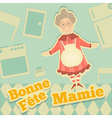 Grandmother Day France vector image vector image