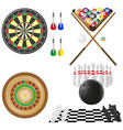 icon of games for leisure vector image