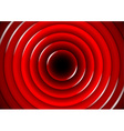 Abstract background with glossy red circles vector image