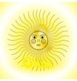 Design sun in Slavs style vector image