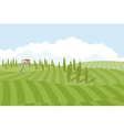 fields vector image
