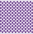 Seamless geometric pattern lilac color vector image