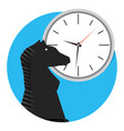 strategy time icon vector image