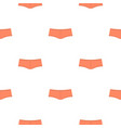 coral boyshorts pattern seamless vector image