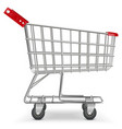 Supermarket Cart vector image vector image