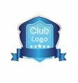 Football golf baseball Club logo symbol vector image