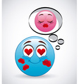 emoticon concept vector image