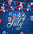 American Celebration Background for Independence vector image