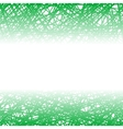 Abstract Green Line Background vector image