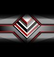 design geometric background vector image