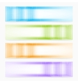Abstract colorful banners vector image vector image