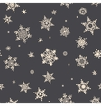 Christmas Snowflakes EPS 10 vector image