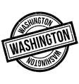 Washington rubber stamp vector image vector image