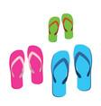 familys sandals vector image