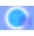 Alien planet view vector image