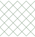 Dark Green Grid White Diamond Background vector image