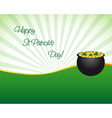 Saint Patricks day wallpaper vector image vector image