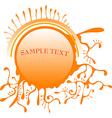 Abstract Sun Design vector image