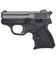 Small handgun vector image