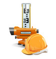 Surveying Concept vector image
