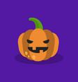 halloween trick or treat jack olantern scary vector image
