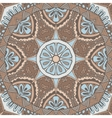 ethnic geometric seamless tribal pattern vector image