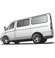Minibus vector image