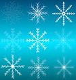 Background Blue Celebration Christmas Cold Element vector image