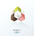 3D Cube for your design vector image vector image