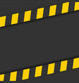 detailed of a industrial danger lines background vector image