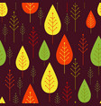 seamless vegetable pattern with abstract vector image