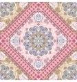 Turkish rug style seamless pattern vector image
