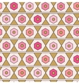 Seamless geometric pattern Modern texture vector image