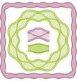 Vintage lace elegant frames template for you vector image
