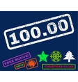 10000 Rubber Stamp vector image