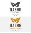 Set of vintage labels emblems and logo templates vector image