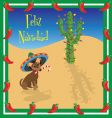 Christmas Chihuahua vector image vector image
