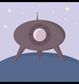 ufo background vector image vector image