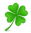 Four leaf clover St Patricks day symbol vector image