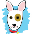 Dog Head vector image vector image