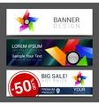 Template brochure design templates vector image