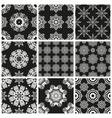 Set geometric abstract Seamless pattern vector image