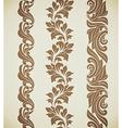 Baroque patterns vector image vector image