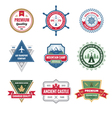 Badges Collection in Format vector image
