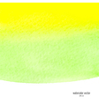 green and yellow watercolor squarer background vector image vector image
