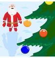 Russian Santa Claus vector image