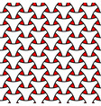 seamless weaving triangle squama surface pattern vector image