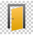 open door gradient icon vector image