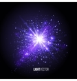 Background burst with sparkles vector image