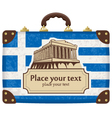 Greece and the Acropolis vector image